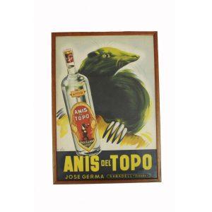 Cartel anís del Topo