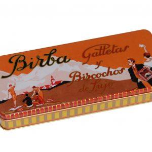 Caja de lata galletas Birba