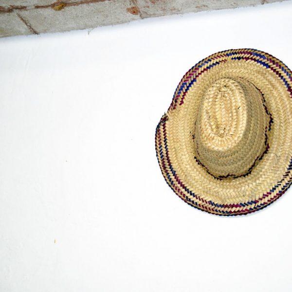 Sombrero de palma