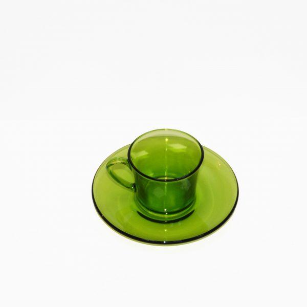 Duralex taza y plato