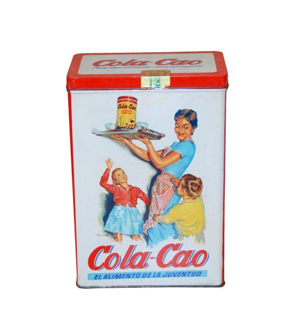 Antigua lata Cola Cao