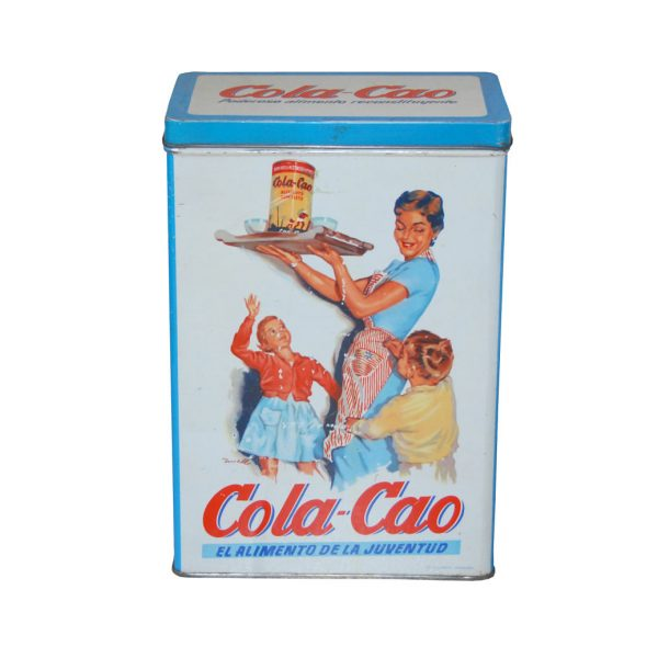 Lata Cola Cao pasta