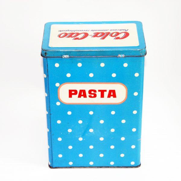 Antigua lata Cola Cao pasta