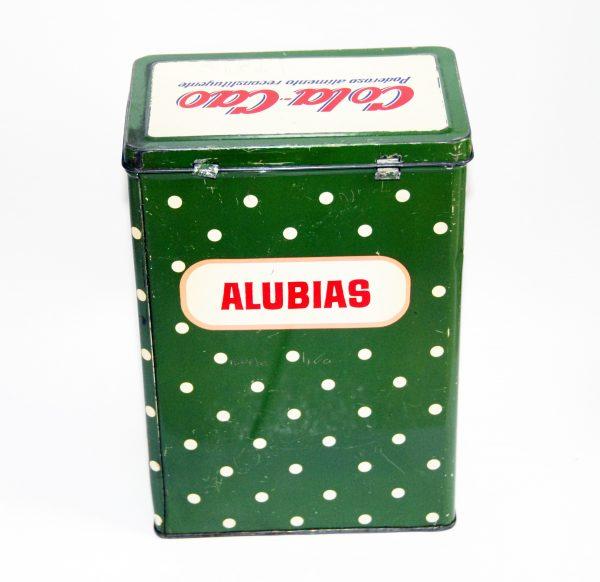 Antigua lata de Cola Cao Alubias