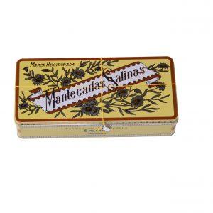 Mantecadas Salinas caja de lata
