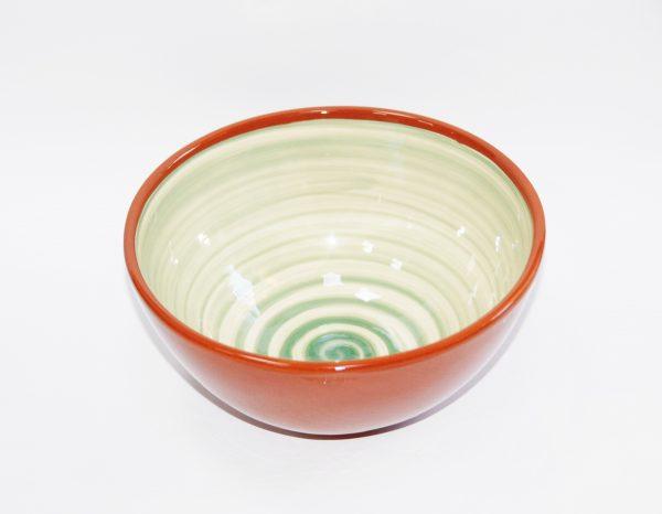 Ensaladera cerámica Jaén espiral
