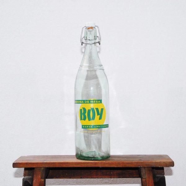 Antigua botella de gaseosa