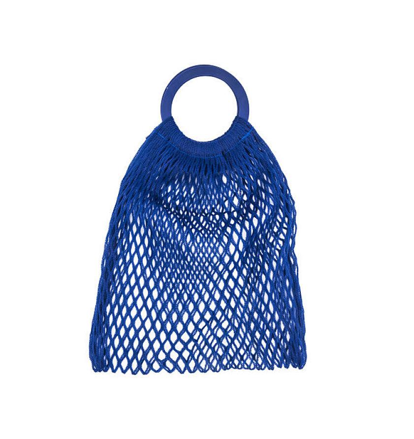 Bolsa de los mandaos azul