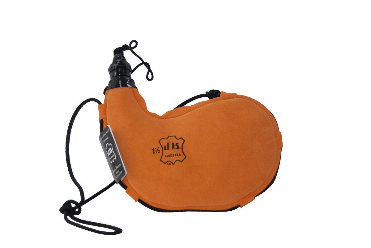Bota de látex naranja