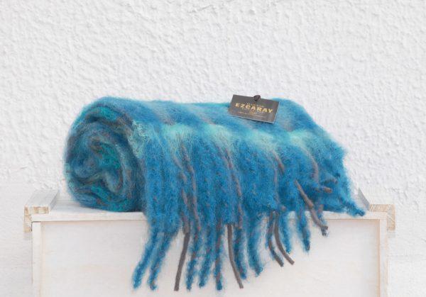 Ezcaray bufanda Mía azul