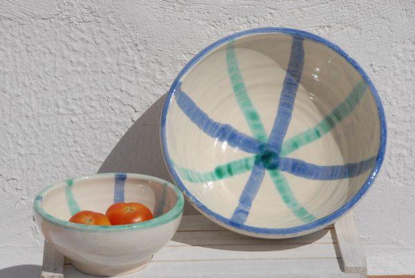 Bol de cerámica artesanía