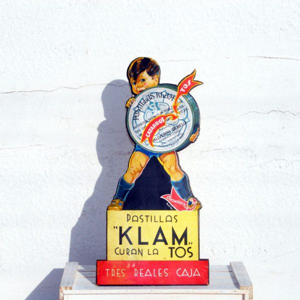 Pastillas Klam display