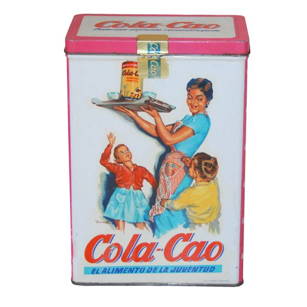 Lata de Cola Cao antigua