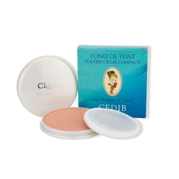 Polvo crema compacto Cedib