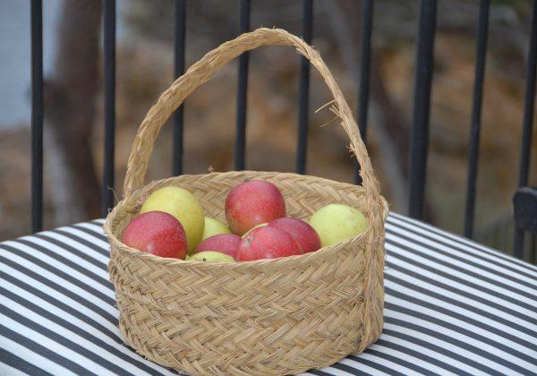 Artesanía de Jaén cesta esparto