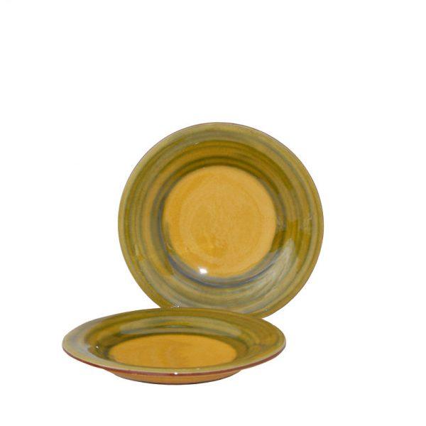Plato de postre cerámica catalana