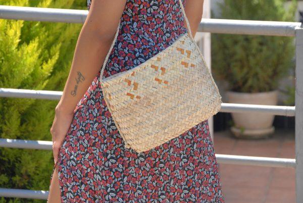 Bolso de palmito artesanía de Mallorca